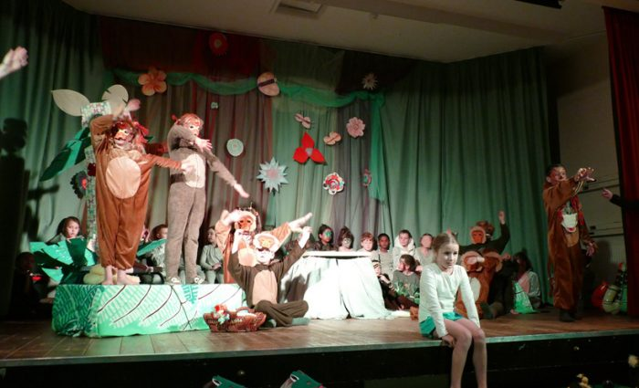 Jungle Book production at Landulph