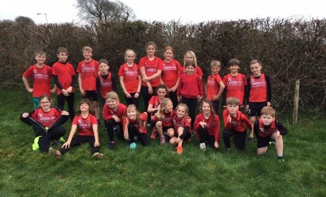 Landulph take part in Cross Country